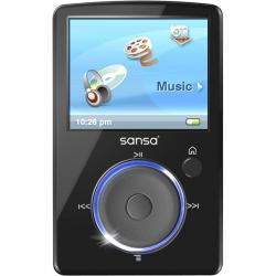 Sandisk Sansa Fuze 2GB Black MP3 Player
