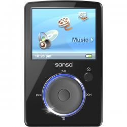 Sandisk Sansa Fuze 2GB Black MP3 Player